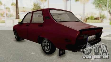 Dacia 1310 TX Realistica para GTA San Andreas vista posterior izquierda