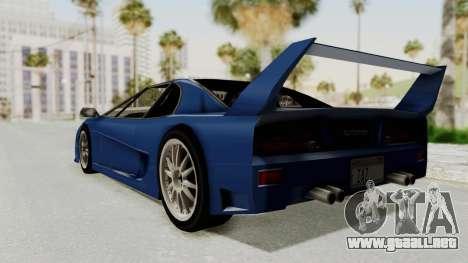 Turismo Fulmine para la visión correcta GTA San Andreas