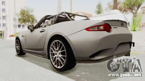 Mazda MX-5 Cup 2015 v2.0 para GTA San Andreas left