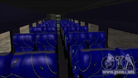 Marcopolo UUM Bus para visión interna GTA San Andreas
