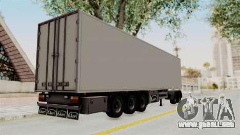 Volvo FM Euro 6 6x4 Tandem v1.0 Trailer para GTA San Andreas left