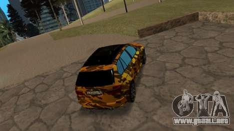 BMW X5M ( Davidich ) para la visión correcta GTA San Andreas