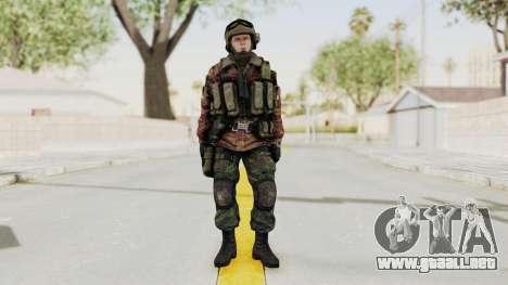 Battery Online Russian Soldier 9 v1 para GTA San Andreas segunda pantalla
