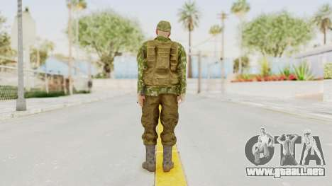 MGSV The Phantom Pain Soviet Union Vest v2 para GTA San Andreas tercera pantalla