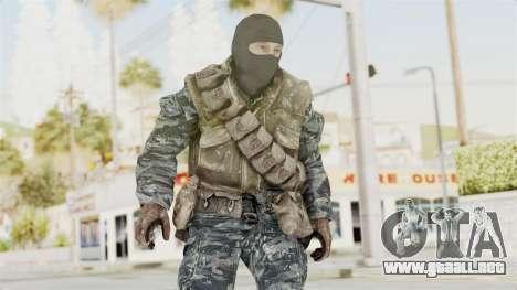 COD BO Russian Spetznas Flak MP v1 para GTA San Andreas