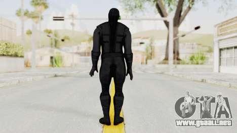 Mortal Kombat X Klassic Noob Saibot para GTA San Andreas tercera pantalla