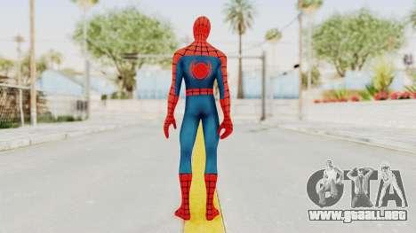 Marvel Heroes - Spider-Man para GTA San Andreas tercera pantalla