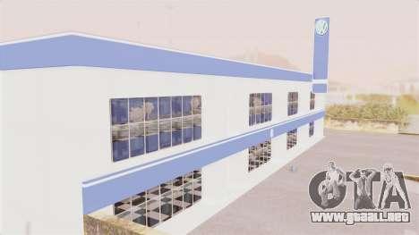 Volkswagen Showroom in San Fierro para GTA San Andreas segunda pantalla
