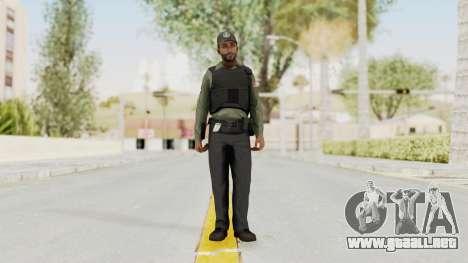 GTA 5 Security Man para GTA San Andreas segunda pantalla