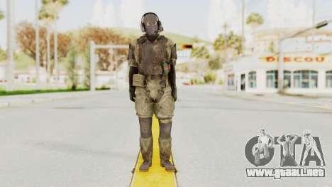 MGSV Phantom Pain Wandering MSF Mosquite para GTA San Andreas segunda pantalla
