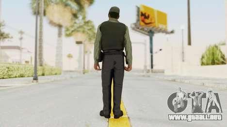 GTA 5 Security Man para GTA San Andreas tercera pantalla