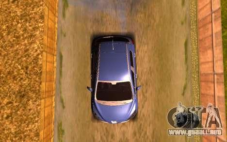 Iranian Peugeot 308 para GTA San Andreas vista hacia atrás