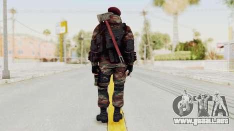 Battery Online Russian Soldier 1 v1 para GTA San Andreas tercera pantalla