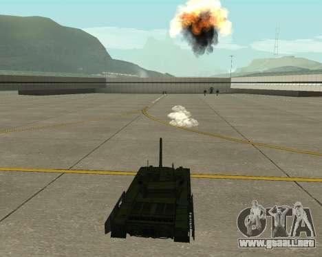 T-14 Armata para la vista superior GTA San Andreas