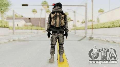 Battlefiled 3 Russian Medic para GTA San Andreas tercera pantalla