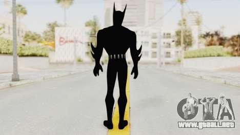 Batman Arkham Origins - Batman Beyond para GTA San Andreas tercera pantalla