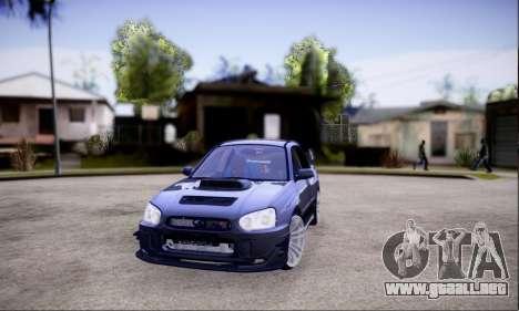Subaru impreza WRX STi LP400 v2 para GTA San Andreas