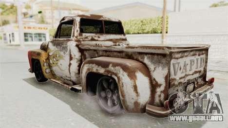 GTA 5 Slamvan Lowrider para visión interna GTA San Andreas