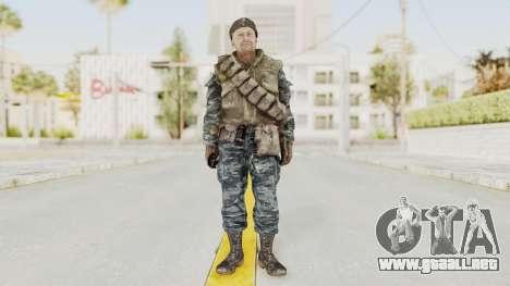 COD BO Russian Spetznas Flak MP v3 para GTA San Andreas segunda pantalla