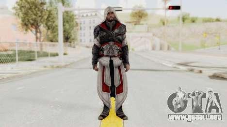 AC Brotherhood - Ezio Auditore Seusenhofer Armor para GTA San Andreas segunda pantalla