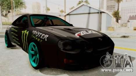 Toyota Celica GT Drift Monster Energy Falken para GTA San Andreas
