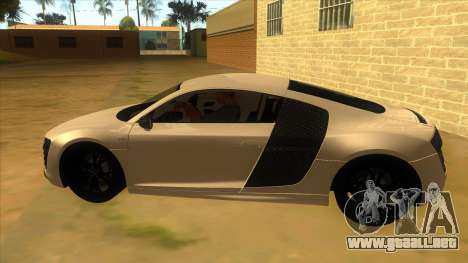 Audi R8 5.2 V10 Plus para GTA San Andreas left