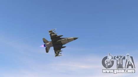 GTA 5 F-16C Block 52 quinta captura de pantalla