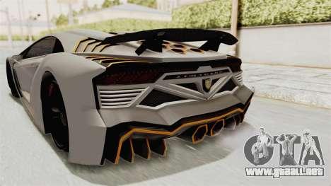 GTA 5 Pegassi Zentorno PJ para GTA San Andreas