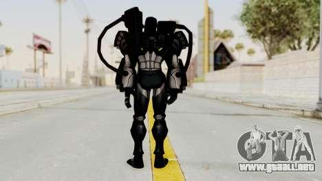Marvel Future Fight - War Machine para GTA San Andreas tercera pantalla