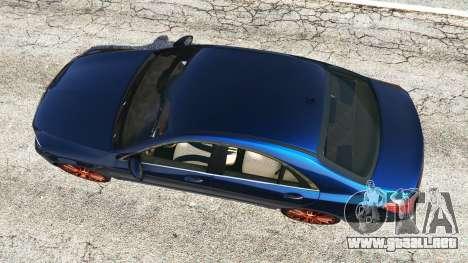 GTA 5 Mercedes-Benz S500 (W222) [yokohama] v2.1 vista trasera