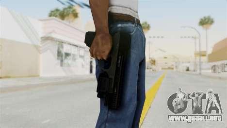 Killzone - M4 Semi-Automatic Pistol No Attach para GTA San Andreas tercera pantalla