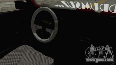 Renault Broadway v2 para visión interna GTA San Andreas
