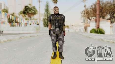 MGSV The Phantom Pain Venom Snake Square para GTA San Andreas segunda pantalla