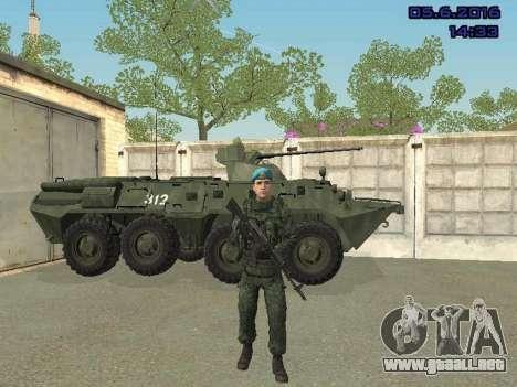 Modern Russian Soldiers pack para GTA San Andreas undécima de pantalla