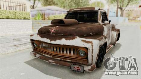 GTA 5 Slamvan Race PJ2 para vista lateral GTA San Andreas