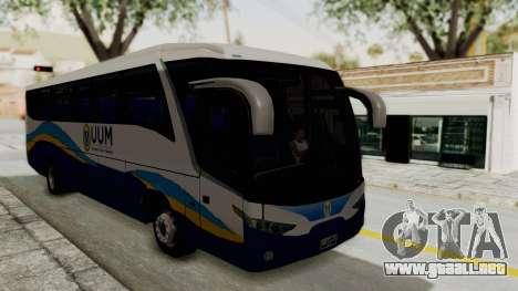 Marcopolo UUM Bus para la visión correcta GTA San Andreas