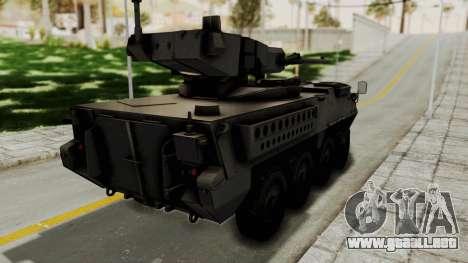 M1128 Mobile Gun System para GTA San Andreas left