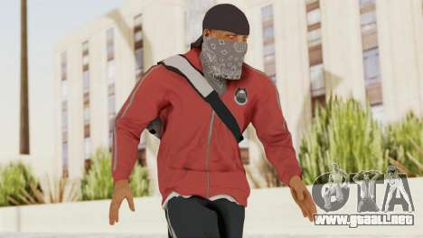 Battlefiled Hardline Professional Gang para GTA San Andreas