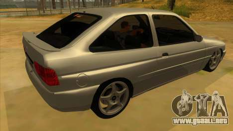 Ford Escort V2 para la visión correcta GTA San Andreas