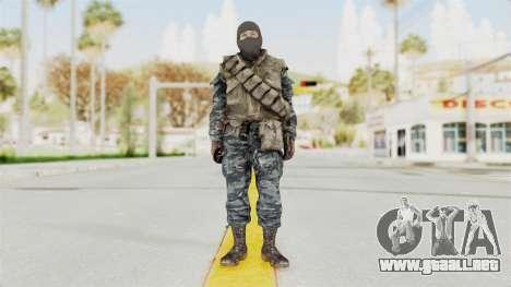 COD BO Russian Spetznas Flak MP v1 para GTA San Andreas segunda pantalla