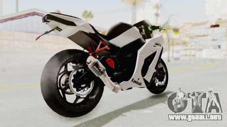 Kawasaki Ninja ZX-10R Modification para GTA San Andreas left