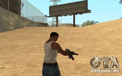 M4 Cyrex para GTA San Andreas sexta pantalla