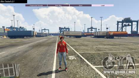 GTA 5 Skin Control 2.1 cuarto captura de pantalla