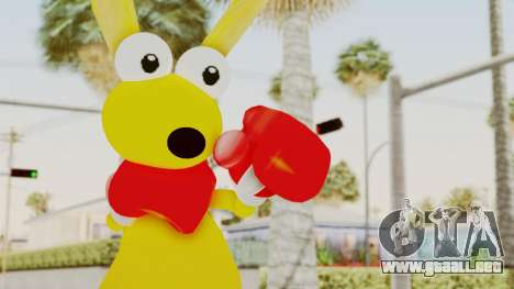 Kao the Kangaroo Gloves para GTA San Andreas