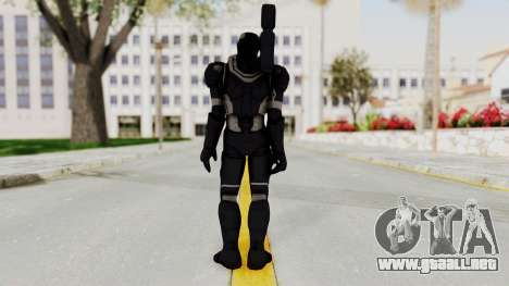 Marvel Heroes - War Machine (AOU) para GTA San Andreas tercera pantalla