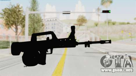 QBB-95 para GTA San Andreas segunda pantalla
