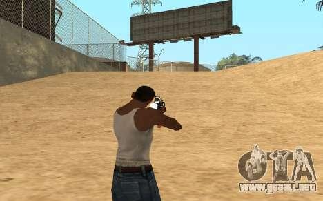 M4 Cyrex para GTA San Andreas quinta pantalla