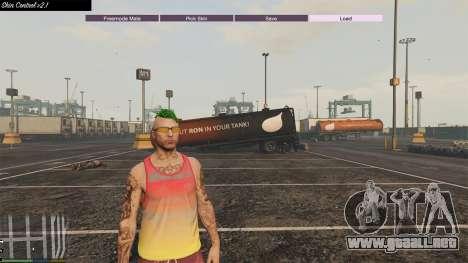 GTA 5 Skin Control 2.1 tercera captura de pantalla