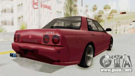 Nissan Skyline NAR32 para GTA San Andreas left