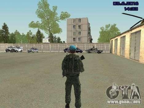 Modern Russian Soldiers pack para GTA San Andreas twelth pantalla